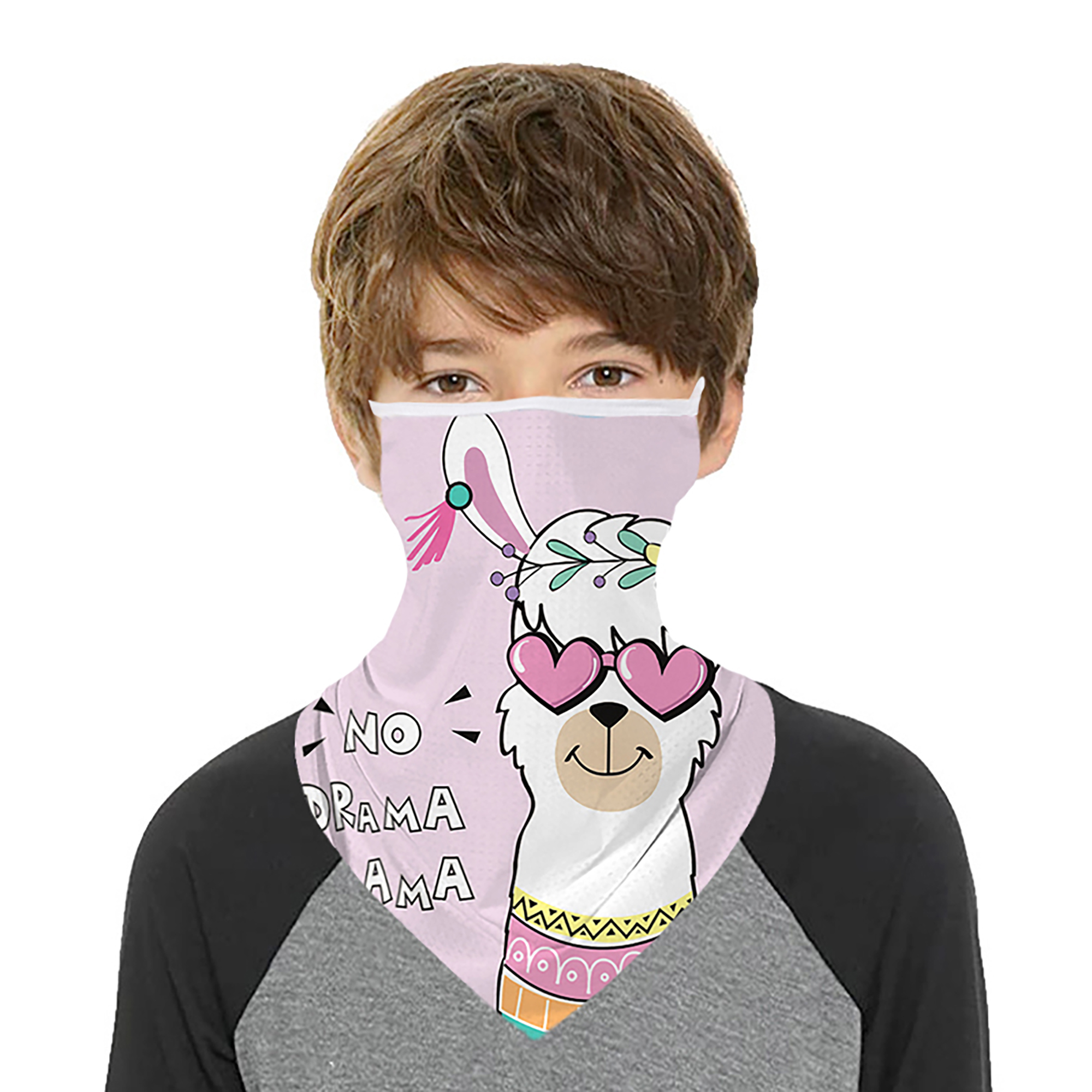 Details about  /Neck Tube Scarf Bandana Head Face Cover Neck Gaiter Ear Loops Headwear Tools