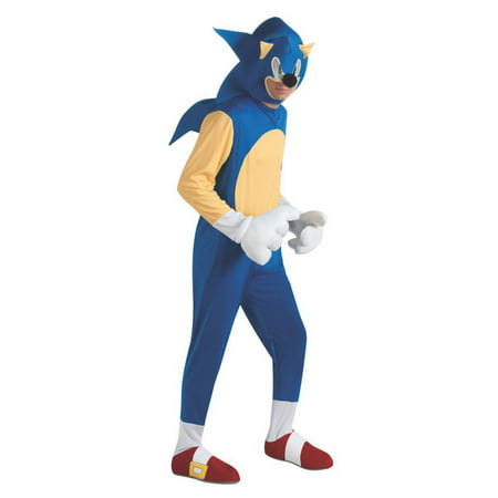 Sonic the Hedgehog Costume for Adults](Sonic Menu Halloween)