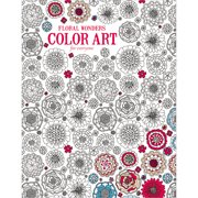 Leisure Arts Inc Color Art for Everyone Floral Wonders Coloring Book, 1 Each