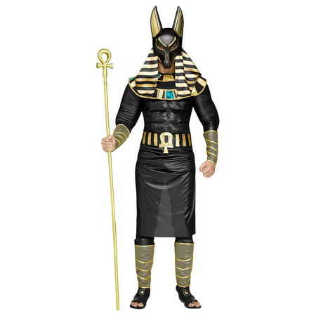 Anubis Adult Egyptian Costume - Egyptian Costume For Men