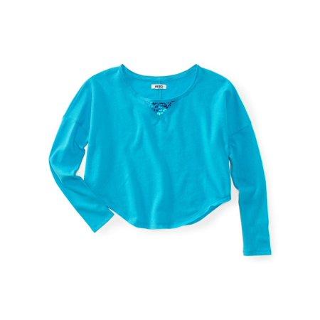 Aeropostale Juniors Cropped Animal Print Knit Sweater Animal Print Crop Cardigan