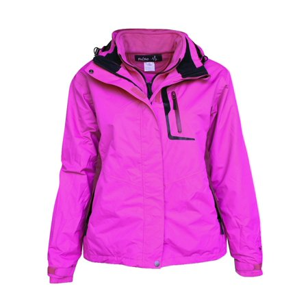 Pulse Women's 3in1 Denver Ski Snow Jacket Coat XS -