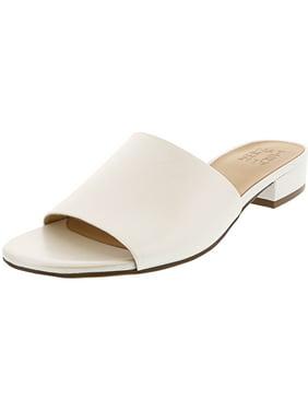 0facf01ed6c7 Product Image Naturalizer Women s Mason White Pearl Leather Sandal ...