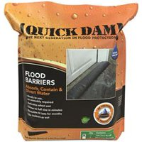 Quick Dam Expanding Flood Barrier, 6 In. X 10 Ft., 1 Per Bag