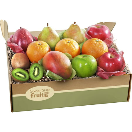 Golden State Fruit Deluxe Collection Fruit Gift Box, 12 (Fresh Fruit Gift)