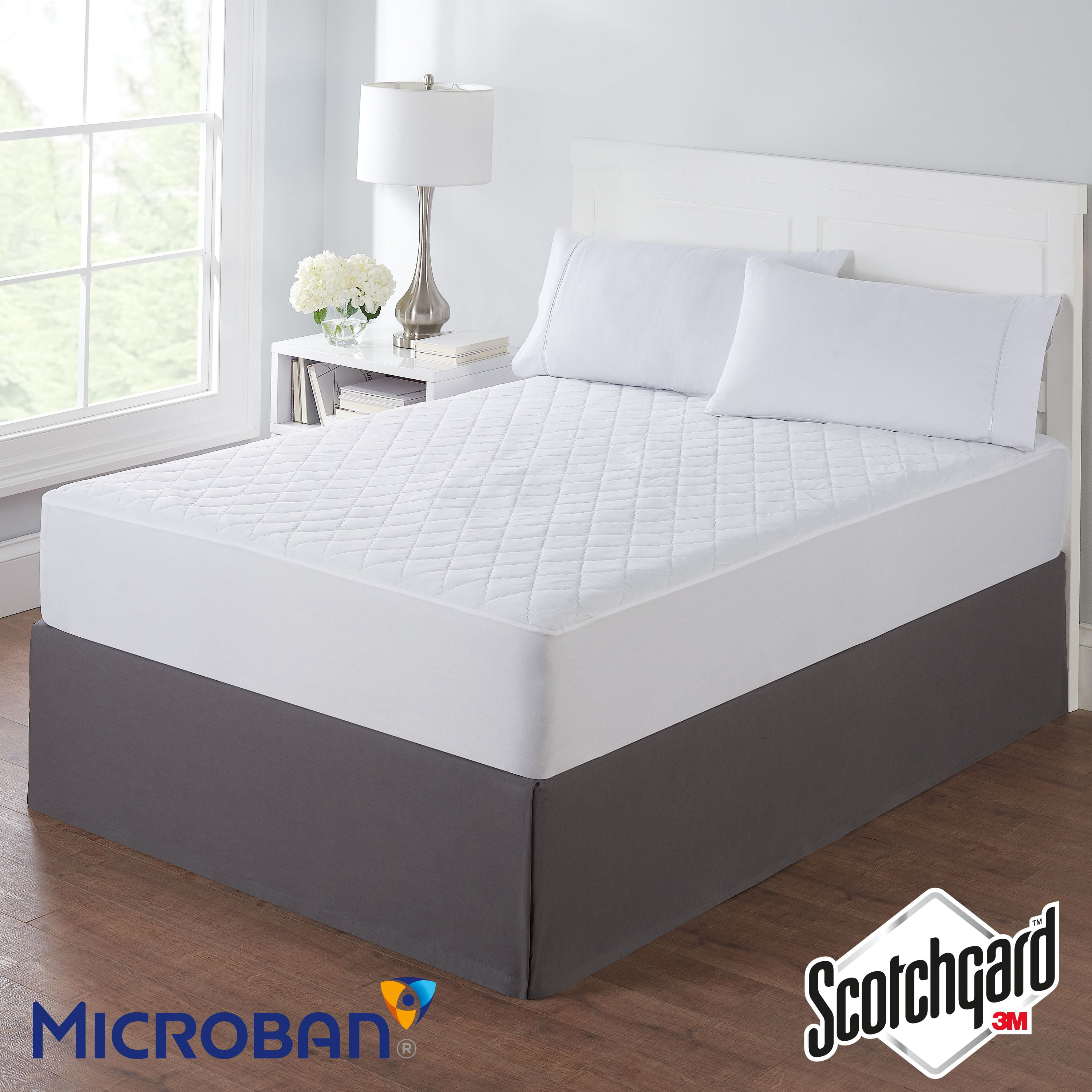 4/'/' SUPERSOFT THICK MICROFIBER MATTRESS TOPPER//MATRESS PROTECTER WITH ALL SIZE