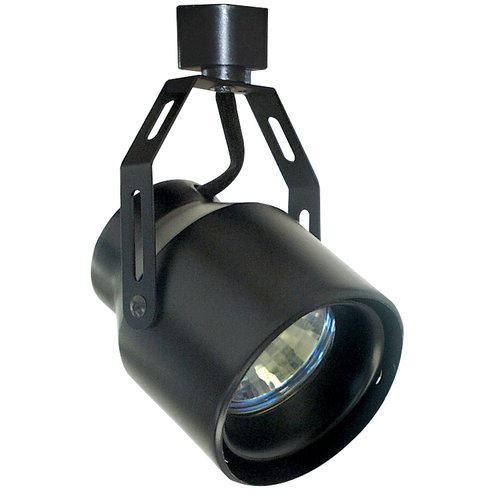 Elco  ET2123  Track Lighting  Mini-Track Heads  Indoor Lighting  Mini-Track Heads  ;Black