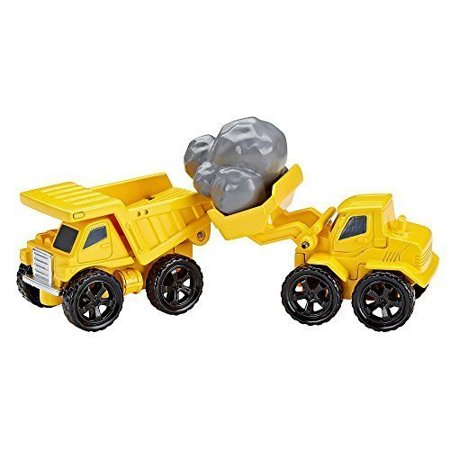 - FisherPrice EZ Play Railway Rock Quarry Vehicle Set Dump Truck and Front Loader
