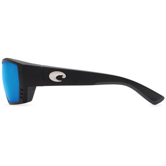 2f6b521e2f Costa Del Mar Tuna Alley C-Mate Matte Black Square Sunglasses Blue Lens  580P 2.5 - Walmart.com