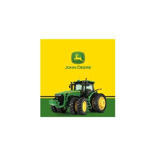 Party Destination 206227 John Deere Tractor - Plastic Tablecover