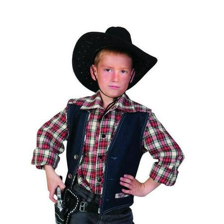 Wild West Sheriff Costume (PLAID WESTERN SHIRT boys cowboy sheriff wild west child halloween costume)