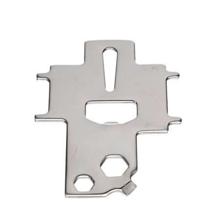 Seachoice 32671 Universal Non-Magnetic Stainless Steel Marine Boat Deck Plate Key & Tool