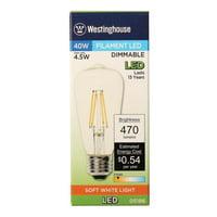 Westinghouse Lighting E26 Medium Base LED Vintage Filament Light Bulb