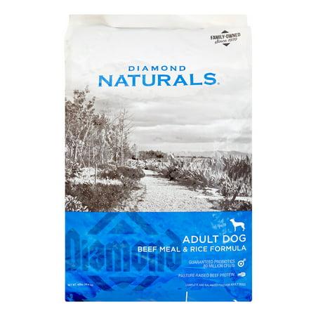 Diamond Naturals Beef Meal & Rice Adult Dog, 40 Lb