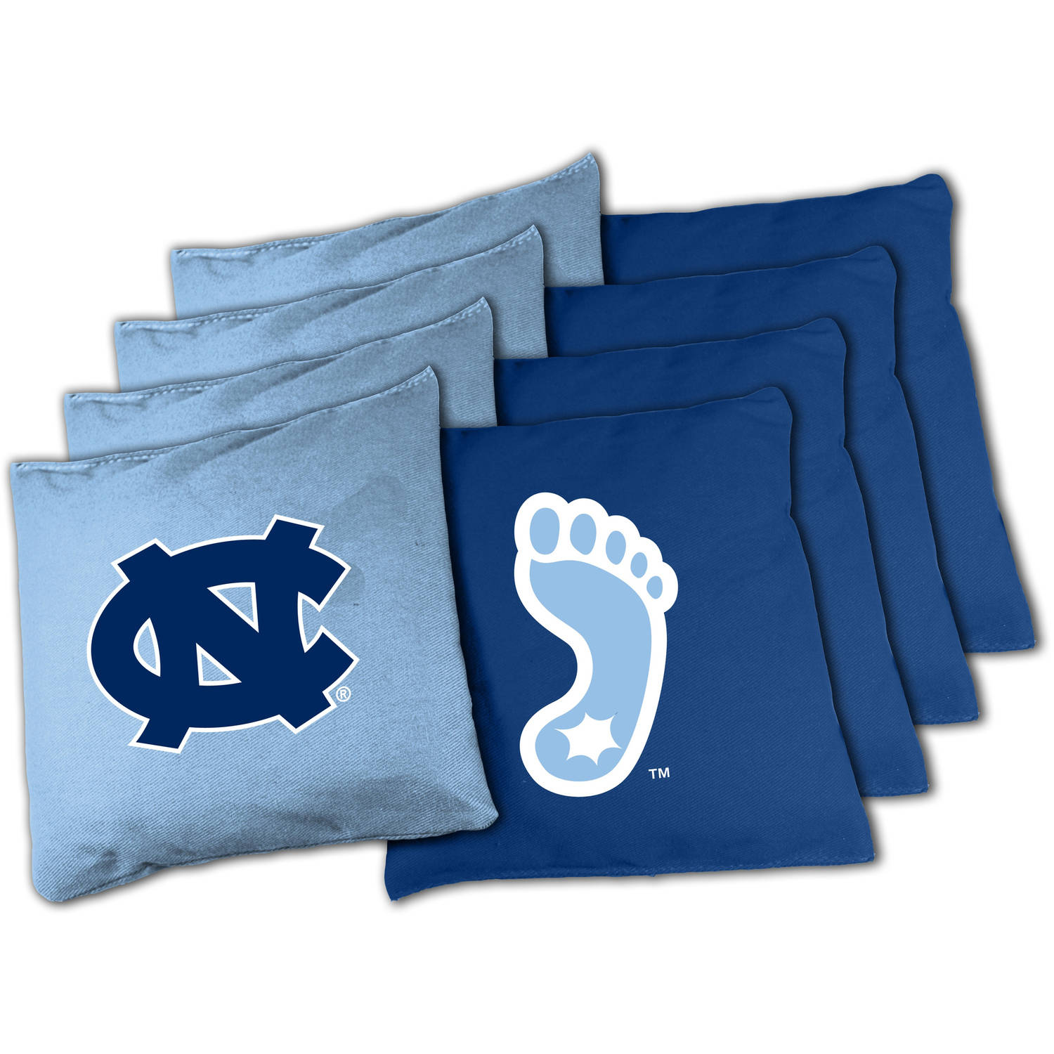 Wild Sports Collegiate North Carolina Tarheels XL Bean Bag Set