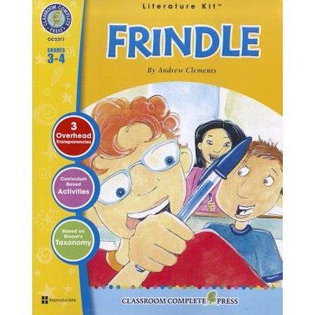 Frindle - Novel Study Guide Gr. 3-4 - Classroom Complete Press (Literature Kit) Classroom Binding Kit