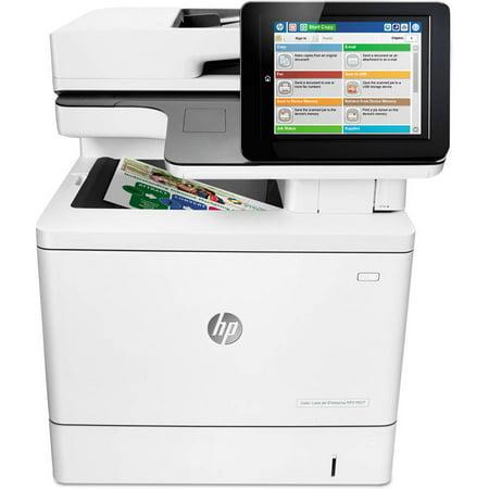 HP Color LaserJet Enterprise Flow M577c Multifunction Printer Copier Scanner Fax Machine by