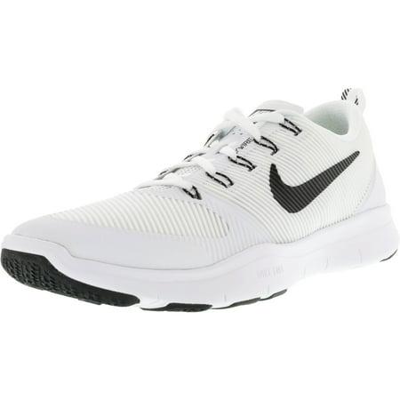 2d2af9e427fa Nike Men s Free Train Versatility Tb White   Black-Black Ankle-High Training  Shoes ...