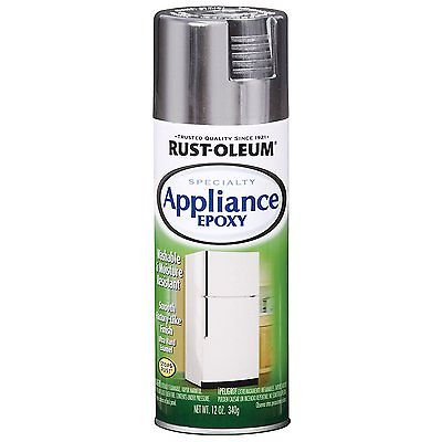 Rust Oleum 7887830 Appliance Enamel 12-Ounce Spray, Stain...