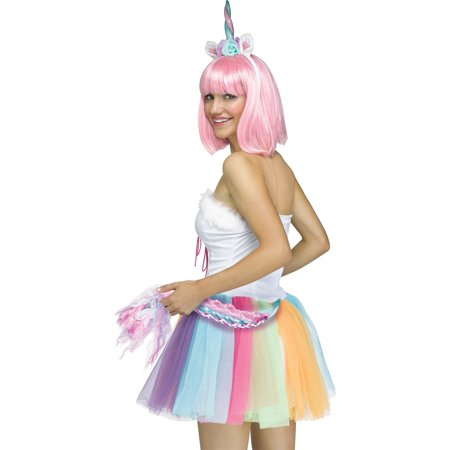 Magical Unicorn Queen Horn Headband Tail Magic Ears Animal Costume Accessory - Costume Demon Horns