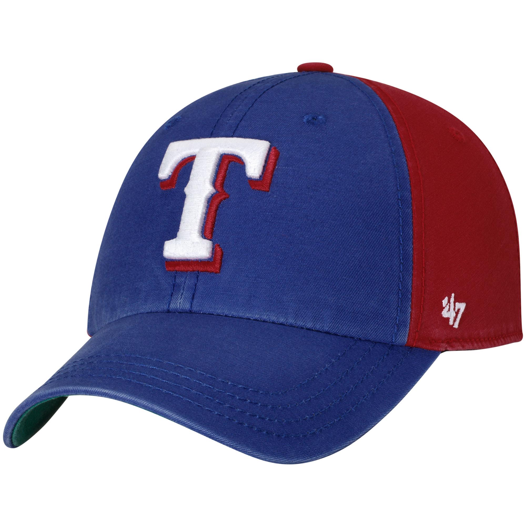 Texas Rangers '47 Flagstaff Clean Up Adjustable Hat - Royal/Red - OSFA