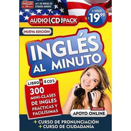 Inglツs al minuto / English in minutes: 300 mini clases de inglツs prᅠcticas y facilisᄀmas (La Cura En Un Minuto)