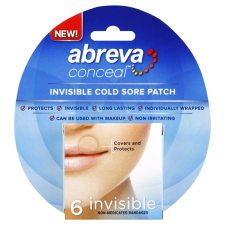 Abreva Conceal Non-Medicated Cold Sore Patch Invisible - 6 CT6 0 CT