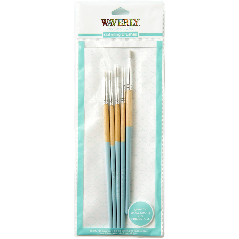 Waverly Inspirations Detail Brush Set, 5 Piece