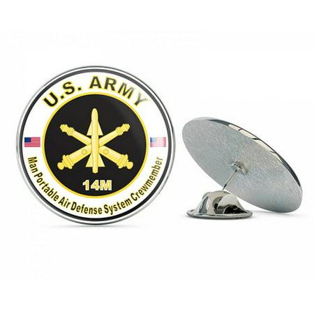 U.S. Army MOS 14M Man Portable Air Defense System Crewmember Metal 0.75