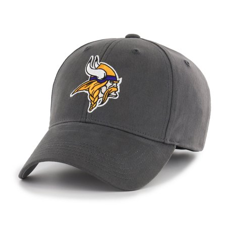 NFL Minnesota Vikings Basic Adjustable Cap/Hat by Fan Favorite (Minnesota Vikings Party Pack)