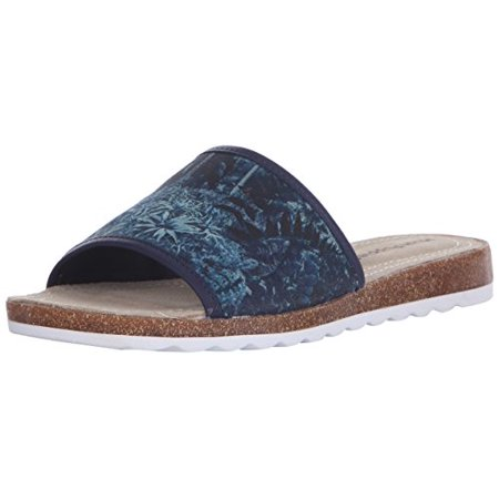 Hush Puppies Womens Panton Jade Printed Flat Sandals ()