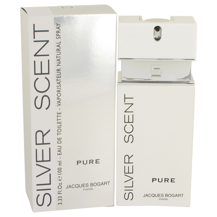 Silver Scent Pure Cologne By Jacques Bogart 3 4 Oz Eau De Toilette
