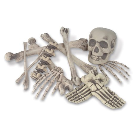 Pack of 72 Spooky Skeleton Bag O' Bones Halloween Decorations 6
