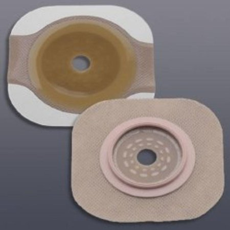 "Colostomy Barrier Flextend 2-3/4"" Blue Code Hydrocolloid Cut-to-fit, Up to 2-1/4"" (#14604, Sold Per Box), Confidence assured with the floating flange; provides.., By New Image"