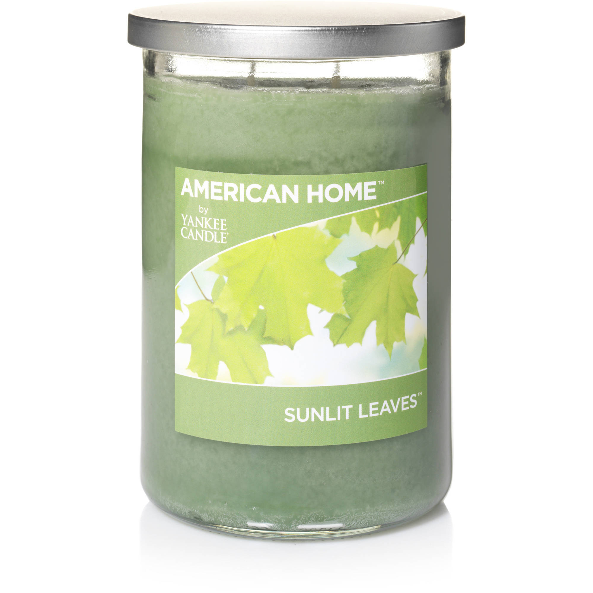 Generic American Home by Yankee Candle Sunlit Leaves, 19 oz Large 2 - Wick Tumbler Candle
