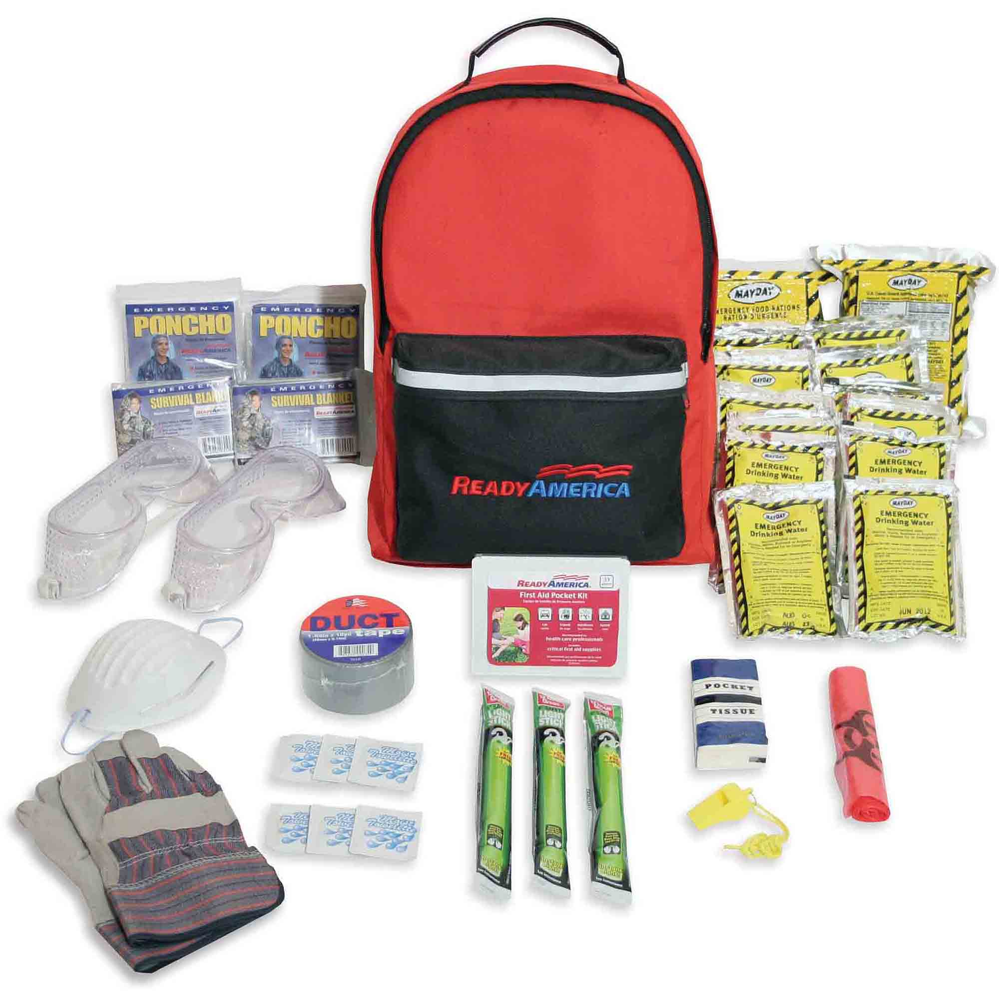 Ready America Emergency Grab 'n' Go 2-Person Tornado Kit