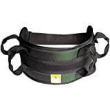 Padded transfer belt, auto buckle, medium, green