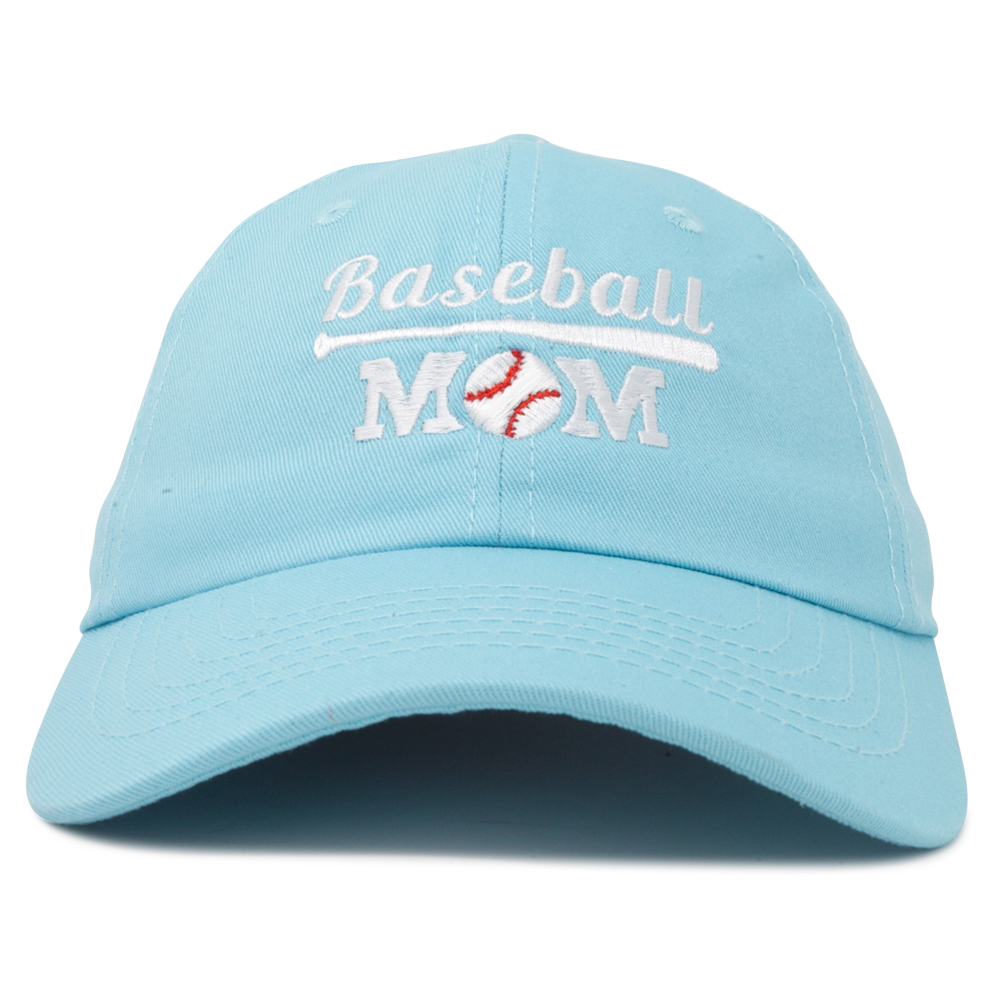 2eaf5e7154ef9 DALIX - DALIX Baseball Mom Women's Ball Cap Dad Hat for Women in Kelly  Green - Walmart.com