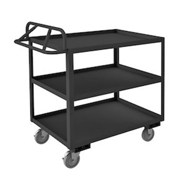 Durham RSCE-2448-3-95 43 in. Rolling Service Cart, Gray - 1200 lbs