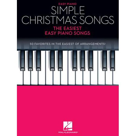 Simple Christmas Songs : The Easiest Easy Piano Songs