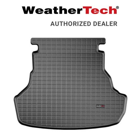 Toyota 4runner Cargo Mat - WeatherTech Cargo Liner Trunk Mat Fits 2015-17 Toyota Camry - Black 40759