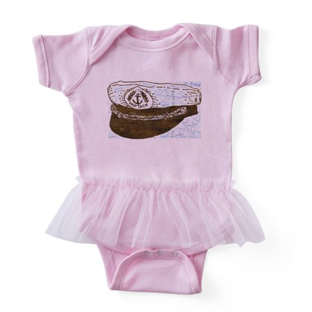 8e47bf11e0c69 CafePress - Captain Hat Leader Sailor Sailing Seaman - Cute Infant Baby  Tutu Bodysuit - Walmart.com