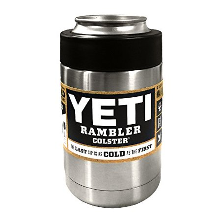 Rambler Vacuum Insulated Stainless Steel Colster for soda Can & Long Necks Yeti
