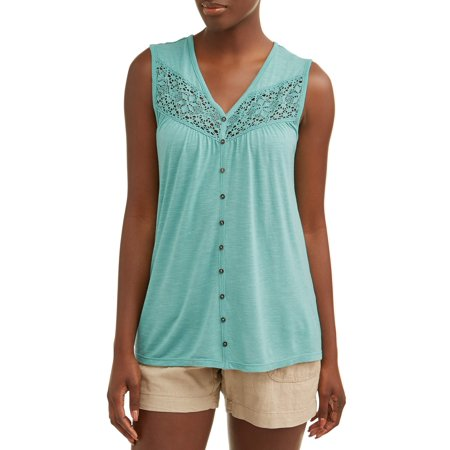 Women's Embroidered Peasant Top ()
