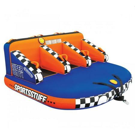 Airhead SPORTSSTUFF Super Betty Triple Rider Boat Towable Mable Tube |
