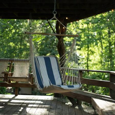 Pawleys Island Pawleys Island Cushioned Single Cotton Chair Hammock