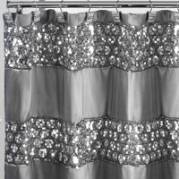 white and silver shower curtain. Popular Bath Sinatra Shower Curtain Silver Curtains  Walmart com