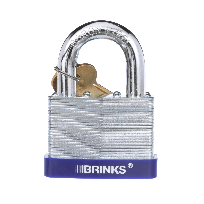 Brink's 60mm Laminated Steel Padlock