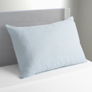 """Mainstays HUGE Pillow 20"""" x 28"""" in Blue and White Stripe"""