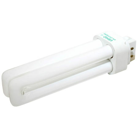 Ushio 13W 4 Pin G24q1 Daylight White Double Twin Tube CFL (3000k 4 Pin Twin Tube)